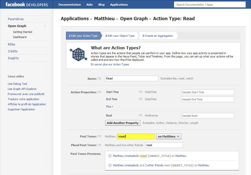 Installer Facebook Timeline