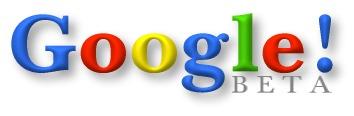 13ème anniversaire Google - 1er logo
