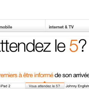 iPhone 5 - Orange annonce sa sortie