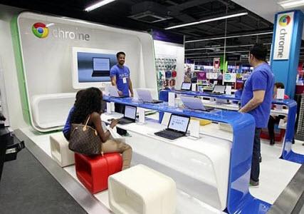 Google ouvre sa 1ère boutique