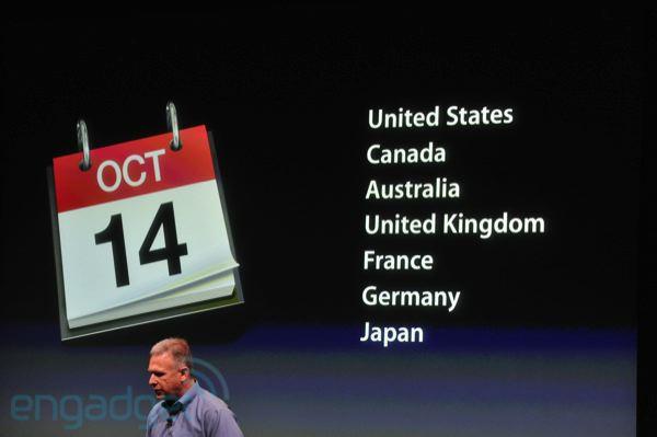 iPhone 4S - Prix et disponibilité