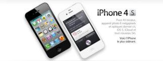 iPhone 4S – Pourquoi je ne l'acheterai pas!
