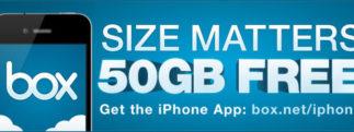 Box.net offre 50Go d'espace de stockage jusqu'au 2 décembre 2011