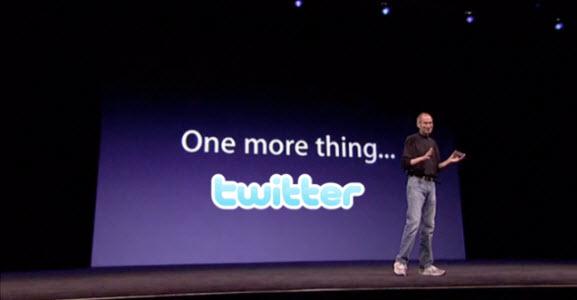 Twitter - L'iOS 5 dope les inscriptions!