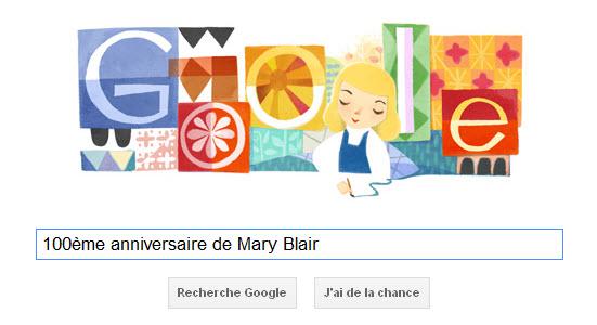 Google fête le 100ème anniversaire de Mary Blair, une légende pour Disney