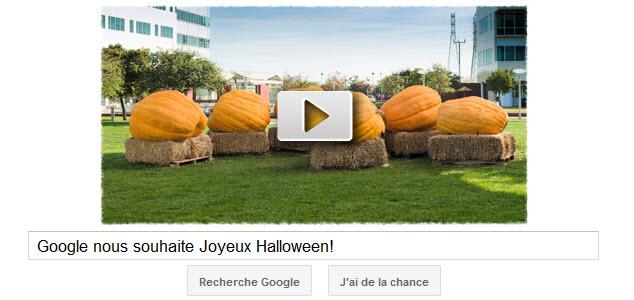 Google fête Halloween!