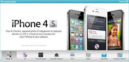 iphone 4S bouygues