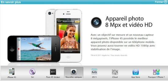 iphone 4S bouygues nouvelles optiques