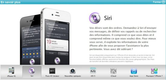 iphone 4S bouygues siri