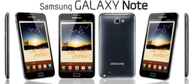La sortie du Samsung Galaxy Note repoussée en France