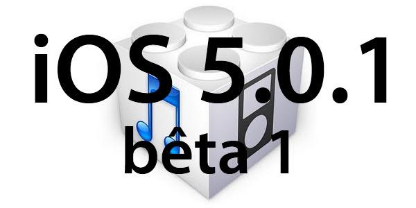 iOS 5.0.1 : déjà une mise à jour pour l'iOS 5