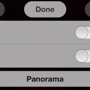 iOS 5 : activer le mode panorama caché