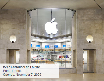 Apple Store : Carrousel du Louvre à Paris