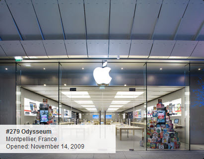 Apple Store : Odysseum à Montpellier