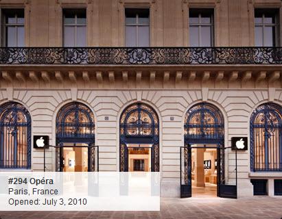 Apple Store : Opéra à Paris