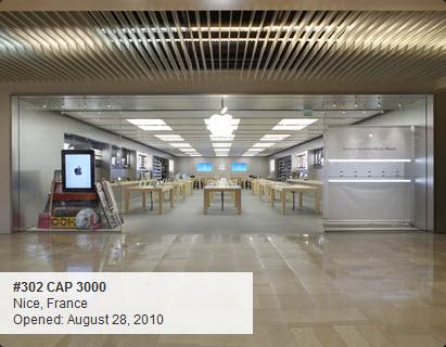 Apple Store : Cap 3000 à Nice