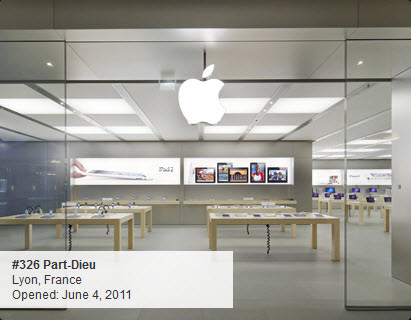 Apple Store : Part-Dieu à Lyon
