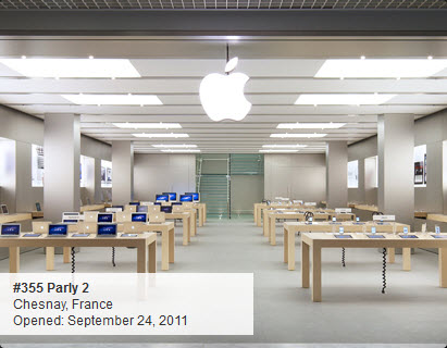 Apple Store : Parly 2 au Chesnay