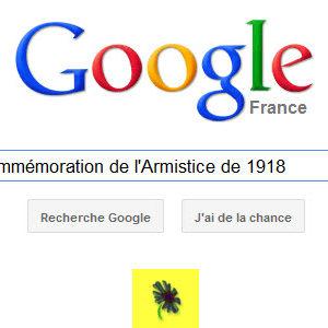 Google célèbre la Commémoration de l'Armistice de 1918