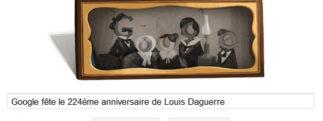 Google fête le 224ème anniversaire de Louis Daguerre