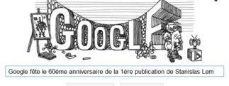 Google fête le 60ème anniversaire de la 1ère publication de Stanislas Lem