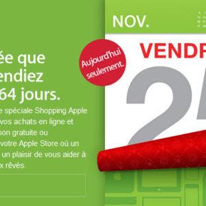 Black Friday : aujourd'hui c'est jour de promotions chez Apple!