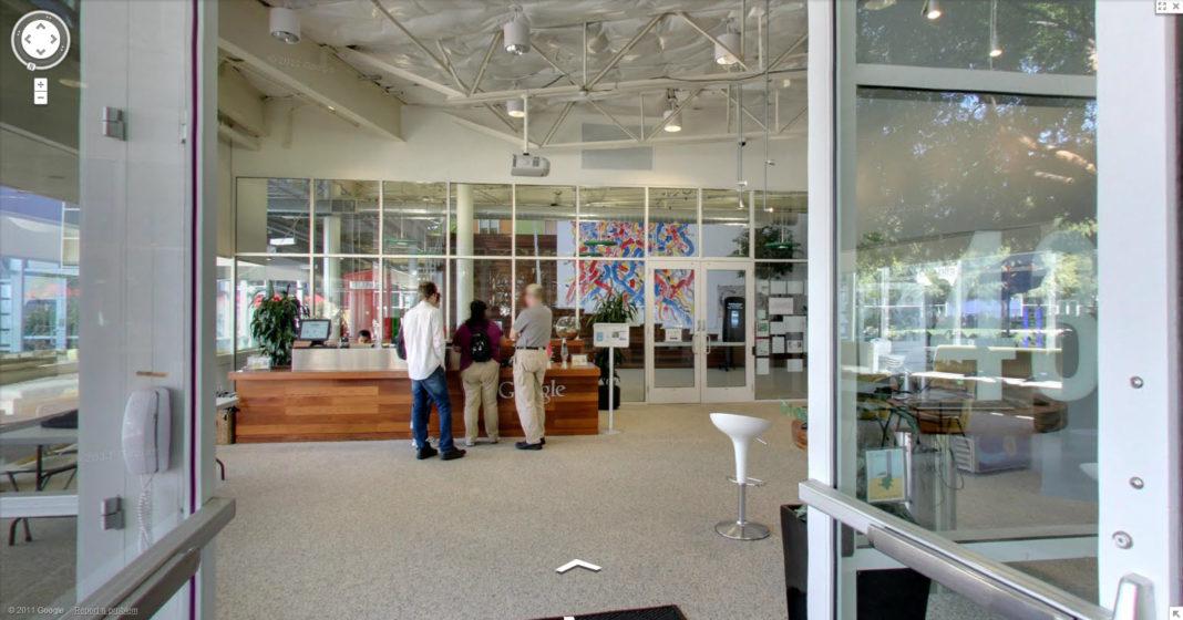 Visitez les locaux de Google grâce à Street View