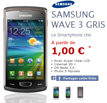 NRJMobile : Samsung Wave 3