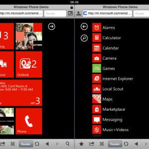 Testez Windows Phone 7 depuis votre smartphone