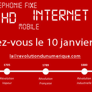 La Révolution du numérique : un buzz de Free Mobile ou encore un fake de Numéricâble?