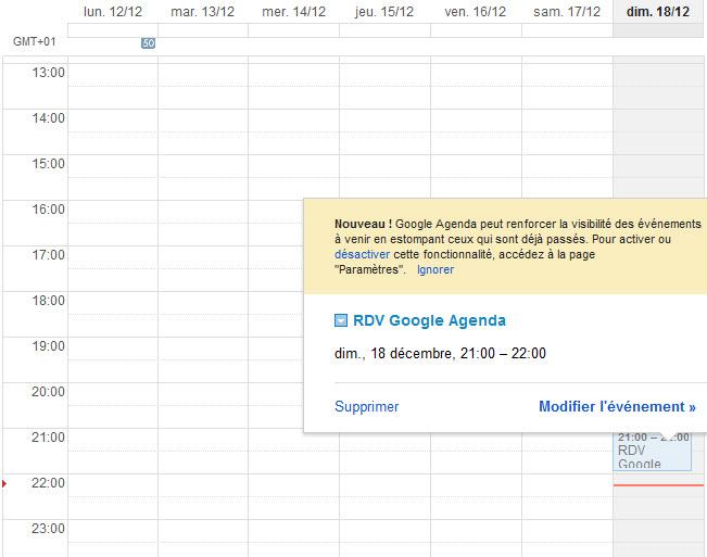 Synchronisation des agendas iPhone et Google