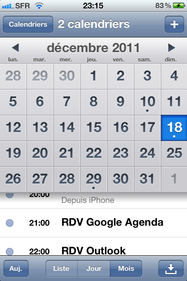 Synchroniser Calendrier Outlook Iphone Sans Itunes.Comment Synchroniser Votre Agenda Entre Votre Iphone Google