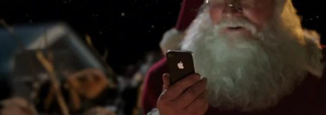 Quand le Père-Noël devient iPapa-Noël grâce à Apple