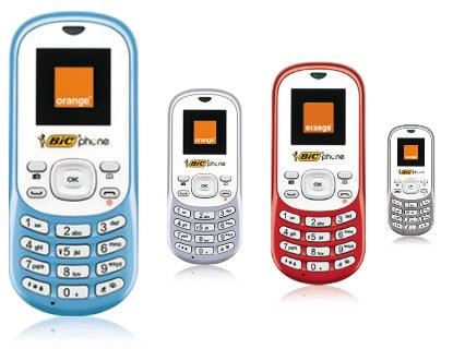 Le Bic Phone fait son petit bonhomme de chemin et aurait été vendu à 1/2 million d'exemplaires