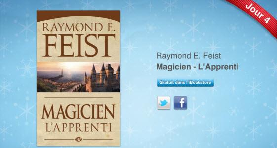 12 jours cadeaux iTunes 2011 – Jour 4 : le iBook