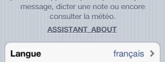 Siri sur iPhone 4 en français