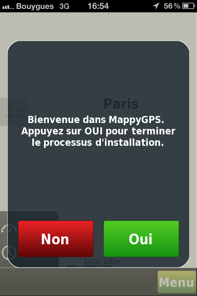 gps gratuit sur iphone test de mappygps free unsimpleclic. Black Bedroom Furniture Sets. Home Design Ideas