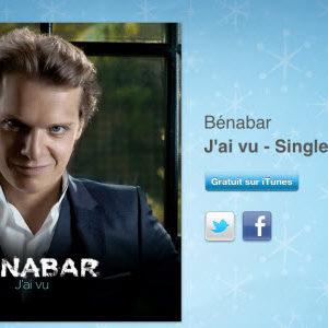 """12 jours cadeaux iTunes 2011 – Jour 8 : le single """"J'ai vu"""" de Bénabar"""