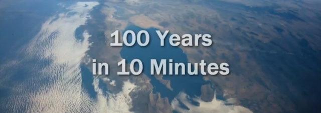 Une vidéo de 10 minutes pour résumer 100 ans d'Histoire