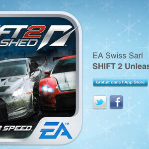 12 jours cadeaux iTunes – Jour 10 : le jeu Need For Speed SHIFT 2 Unleashed
