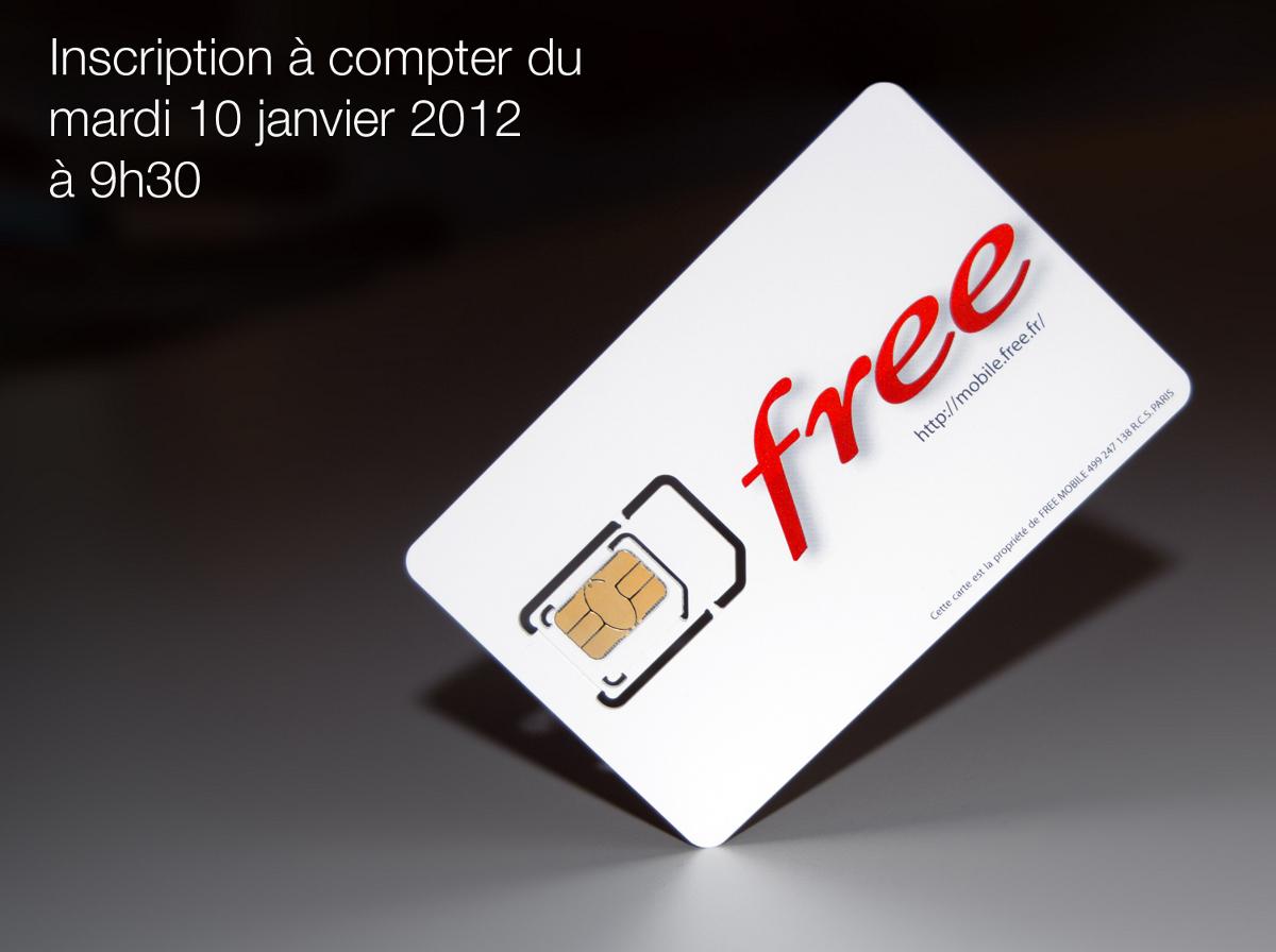 Free Mobile décollage mardi 10 décembre