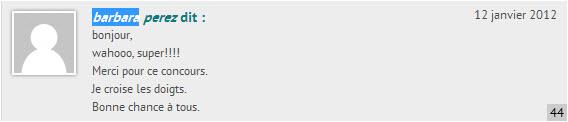 Tirage Novodio RingTone Slim - commentaires doublon