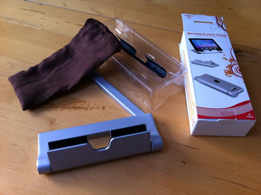 Support de poche pour iPad Novodio Pocket Stand [Test]