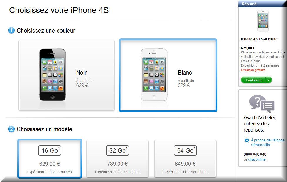 iPhone site Apple