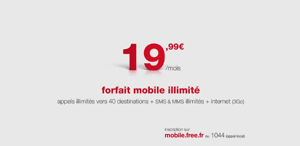 Free Mobile : une seconde pub TV