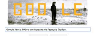 Google fête le 80ème anniversaire de François Truffaut
