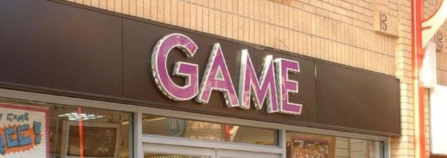 Les boutiques GAME vont certainement fermer en France