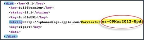 iOS 5.1 disponible le vendredi 9 mars?