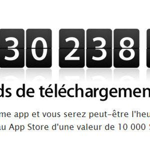Gagnez 10 000$ en téléchargeant la 25 milliardième application sur l'AppStore