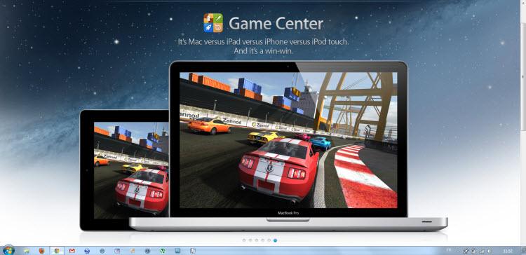 GameCenter OS X Mountain Lion 2